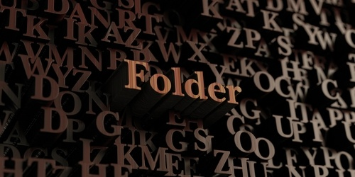 Folder schrijven