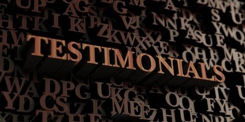 Getuigenis - Testimonial